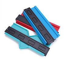 5/6/10inch Saker Contour Gauge Profile Tool Shape Contour Duplication Gauge Tool Plastic Irregular Shaper Profile Ruler Marking