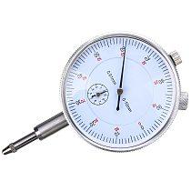 1pc 0.01mm Accuracy Indicator Gauge 55mm Diameter Dial Indicator Measurement Instrument Tool 0-10mm Measure Range