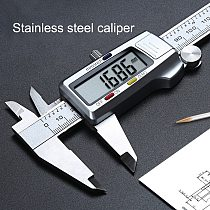 Digital Caliper Stainless Steel Electronic Digital Vernier Calipers 6Inch 0-150mm Precision Micrometer Measuring Caliper Gauges