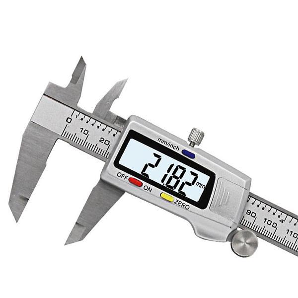 Measuring Tool Vernier Caliper 6  15mm LCD Digital Electronic Carbon Fiber Caliper Gauge Micrometer Digital Caliper Ruler