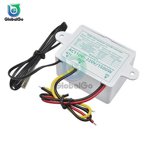 XH-W3002 W3002 AC 110V-220V DC 24V DC 12V Led Digital Thermoregulator Thermostat Temperature Controller Control Switch Meter