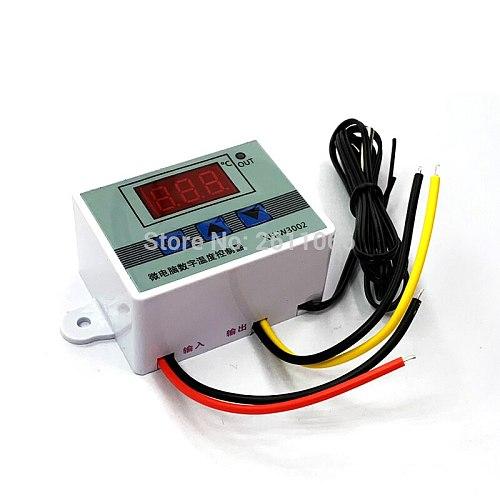 W3001 W3002 DC12V 24V AC110V-220V LED Digital Thermostat Temperature Controller Thermoregulator Heating Cooling Control