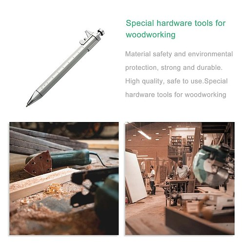 Multifunction Gel Ink Pen Vernier Caliper Roller Ball Pen  Stationery   Ball-Point   practical  portable