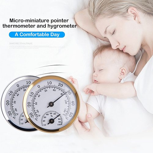 Junejour Wall Mounted Temperature Humidity Meter Thermometer & Hygrometer For Sauna Room Household