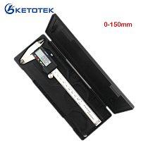Measuring Tool Stainless Steel Caliper 0-150mm 200mm 300mm Digital Vernier Caliper Gauge Micrometer Paquimetro Messschieber