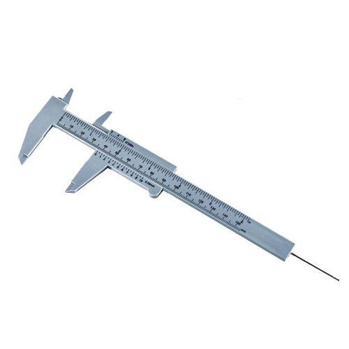 DIY Tool Woodworking Metalworking Plumbing Model Making 150mm Vernier Caliper Aperture Depth Diameter Measure Tool
