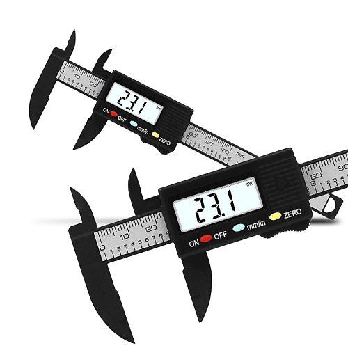 0-100mm Electronic Digital Vernier Caliper Gauge Measuring Tool Measuring Calibre for jewelry measurement Digital Ruler trammel