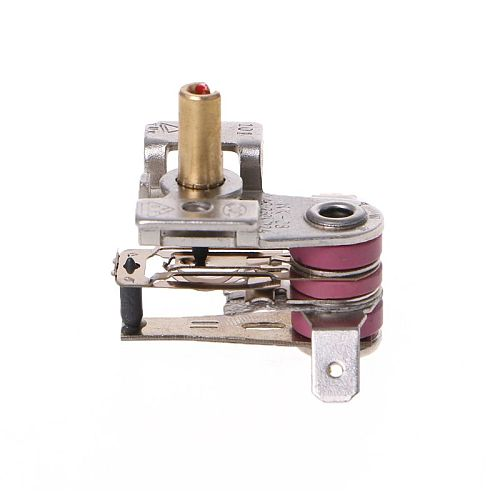 AC 250V 16A Adjustable 90 Celsius Temperature Switch Bimetallic Heating Thermostat KDT-200 High Quality