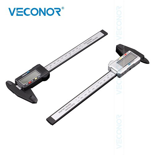 1 Piece 0-150mm Digital Caliper High Accuracy Vernier Caliper Measurement Gauge Tool For Multifunctional Use Color Randomly