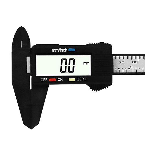 Carbon Fiber Composite 6 inch 0-150mm Vernier Digital Electronic Caliper Ruler