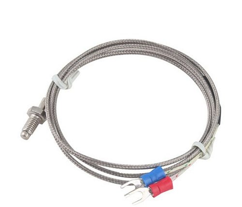 1M/2M/3M K Type Thermocouple Control  Thread M6 Screw Probe Temperature Sensor  Temperature Controller 0-400C Sensor Probe