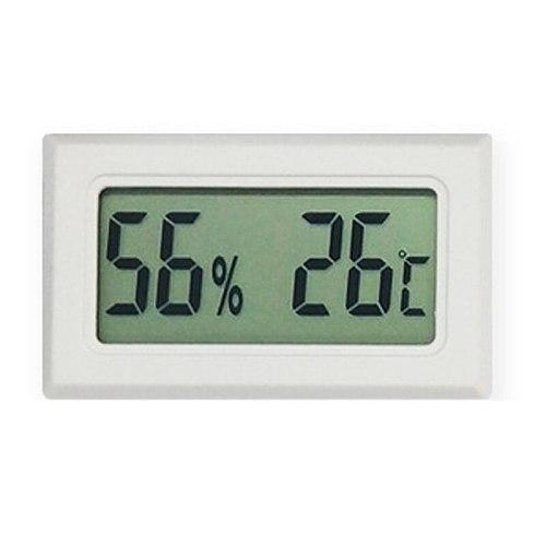 Mini Digital LCD Indoor Convenient Temperature Sensor Humidity Meter Sensor Fridge Thermometer Hygrometer Portable Gauge