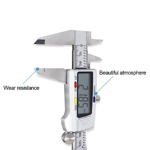 Caliper 150mm 6 inch LCD Digital Electronic Vernier Caliper Gauge Stainless Steel Micrometer Measuring Tool