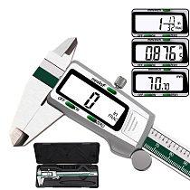 Stainless Steel Digital Caliper Fraction/mm/inch Vernier Caliper Electronic Messschieber Metal Schuifmaat Measuring Caliber