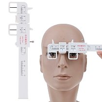 DSHA New Hot New Measure Optical Vernier PD Ruler Pupil Distance Meter Eye Ophthalmic Tool