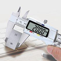 Digital Caliper Electronic Digital Vernier Calipers 6Inch 0-150mm Precision Micrometer Measuring Caliper Gauges Stainless Steel