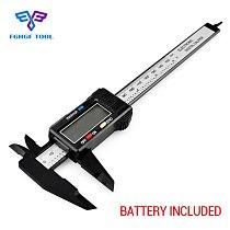 FGHGF 150mm 6  caliper Digital Electronic digital pachometer Carbon Fiber  Vernier  Calipers Gauge Micrometer Measuring Tool