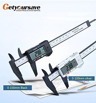 Digital Caliper 6 inch Electronic Vernier Caliper 100mm Calliper Micrometer Digital Ruler Measuring Tool 150mm 0.1mm
