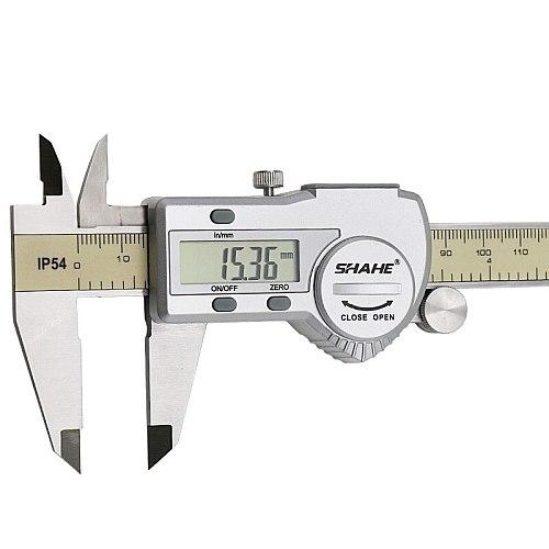 shahe calipers 0-150 mm vernier caliper micrometer gauge IP54 Digital Vernier Caliper Measuring tool 0.01 Digital caliper