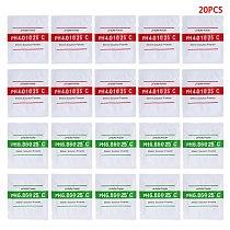 OOTDTY 20 Pcs PH Buffer Solution Powder PH For Test Meter Measure Calibration 4.01 6.86 250ml Each Pack Volume
