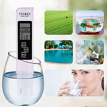3 in 1 PH tester PH Meter Professional TDS EC Meter Digital LCD Water Testing Pen Purity Filter Water Quality Monitor 30% OFF