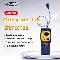 AS5750 Refrigerant Gas Freon Leak Detector Halogen Gas Detector Air Conditioning Refrigerant Gas Indication Light & Alarm Buzzer