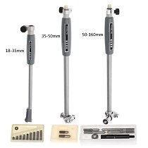Inner Diameter Gauge Measuring Rod + Probe (no indicator) Accessories