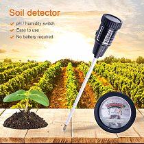 yieryi Soil pH Moisture Meter Tester Hydroponics Analyzer Long Water Quality Plants Humidity Soil Detector 3-8 pH,1-8 Moisture