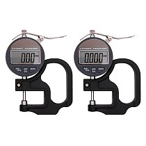 Electronic Thickness Gauge 0.001mm/0.01mm Digital Micrometer Thickness Meter Micrometer Thickness Tester With RS232 Data Output