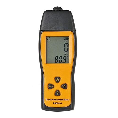 Portable Co Gas Analyzer Small Carbon Monoxide Detector Gas Detector Monitor Co Leak Alarm LCD Diaplay Sound Light Alarm