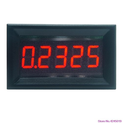 New 0.36  5 Digits 0-3.0000A/0-50.000mA DC Ammeter Digital Current Panel Meter Built-in Shunt