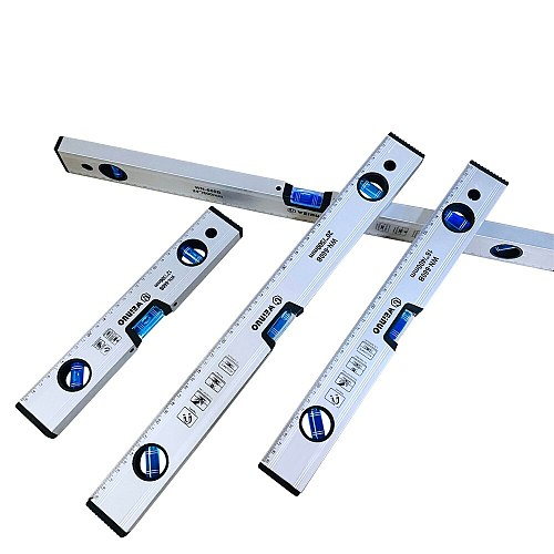 High Precision Spirit Level Magnetic High Bearing Ruler Lever Bubbles Rustproof Horizontal Ruler Spirit Level  balance ruler