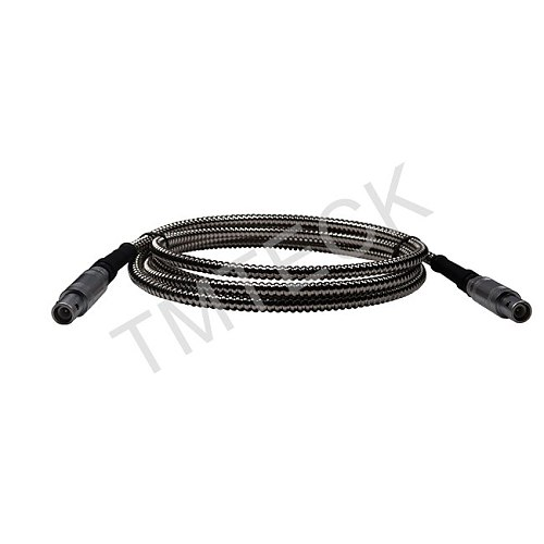 PKLL2 lemo01-lemo01 flexible Stainless Steel Protection Shielding Ultrasonic Cable armored single cable
