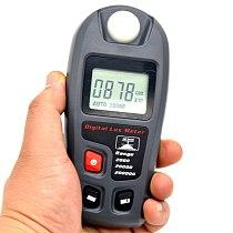 MT-30 Handheld Multifunction Digital Lux Meter 200000 Lux Digital LCD Pocket Light Meter Lux/FC Illuminance Meter JDH88