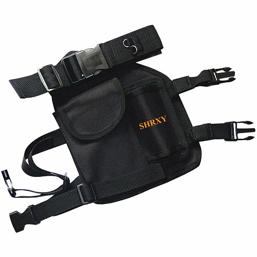 NEWST SHRXY Pinpointing Metal Detector Drop Leg Pouch Holster for Pin Pointers Metal Detector Xp Pointer ProFind Bag