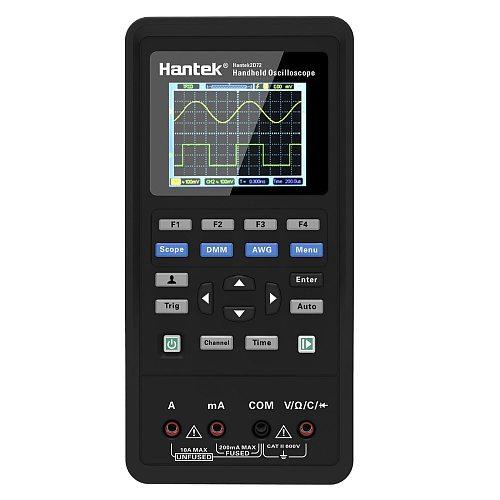 Hantek 3in1 2D72 250MSa/S Digital Oscilloscope Waveform Generator Multimeter USB Portable 2 Channel 40mhz 70mhz Multifunction