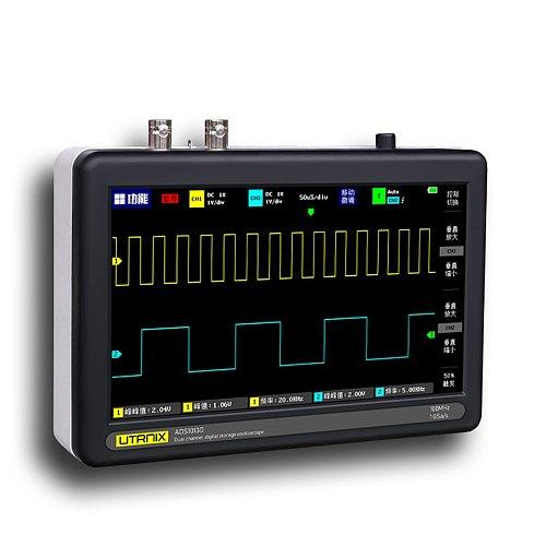 2 Channel 100MS/s MINI Nano1013D Professional Portable Digital Oscilloscope Digital Probe Digital Touch Tablet Oscilloscope
