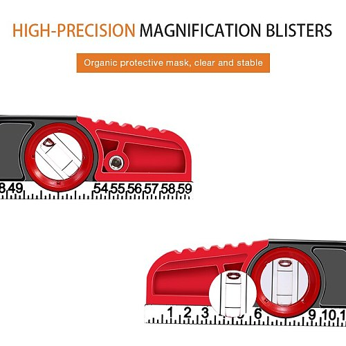 Precision Laser Level Ruler Measurement Instrument Aluminum Level For Instrumentation 300MM 400MM 600MM 800MMMeasuring Tools