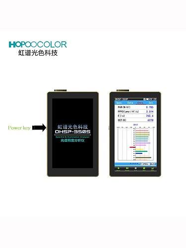 Spectrometers 350-800nm OHSP350P Par PPFD Meter for Horticulture Leds