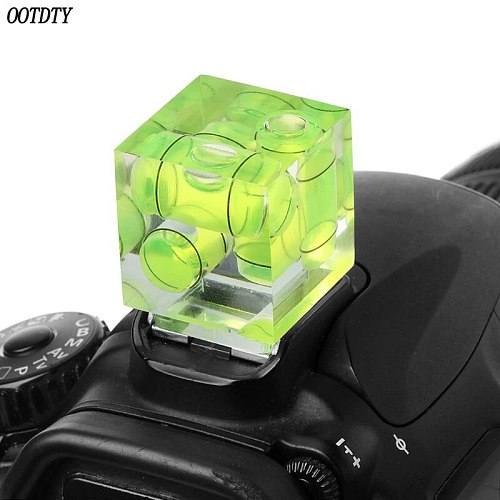 One/Two/Three-Dimensional Bubble Spirit Level For Camera Level Adapter For Cameras Measure Tools