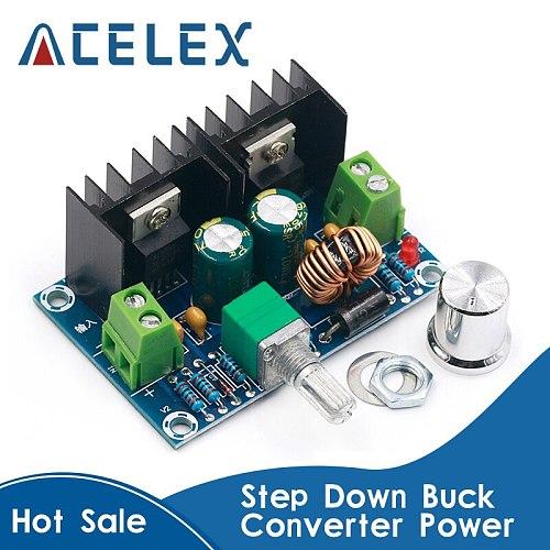 XH-M401 DC-DC Step Down Buck Converter Power Supply Module XL4016E1 PWM Adjustable 4-40V To 1.25-36V Voltage Regulator 8A 200W