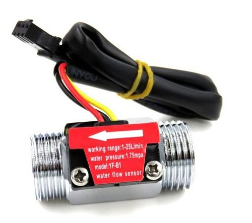 G1/2 Inch Water Flow Hall Sensor Switch Flow Meter For Industrial turbine flowmeter water flow sensor