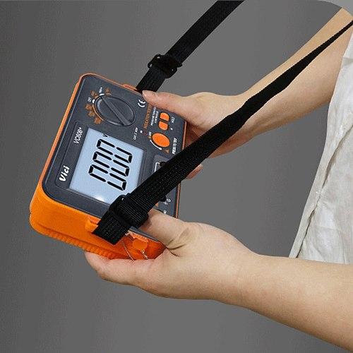 VC60B + Insulation Resistance Tester 250V 500V 1000V Digital Megohmmeter  Digital    Tester MegOhm Meter