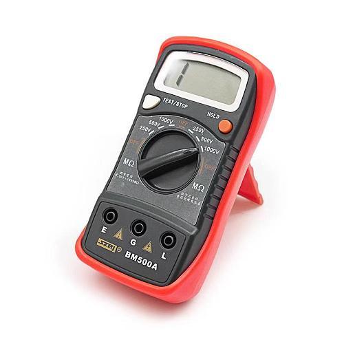 direct deal 1000V BM500A 1999M Digital Insulation Resistance Tester Meter Megohmmeter Megger #D6309#