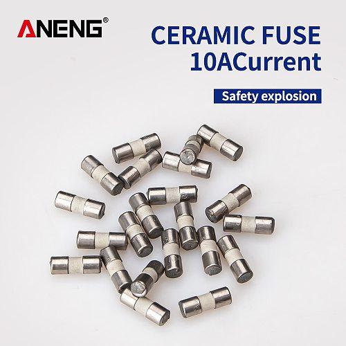 Ceramic Fuse For Multimeter Instrument 600mA 10A  ceramic British plug fuse