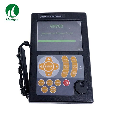 GR900 Portable Ultrasonic Flaw Detector Digital Flaw Detector Automated Display Precise Flaw Location Measuring Range 0-10000mm