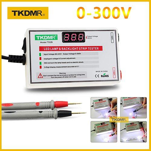 2020 TKDMR NEW LED Tester 0-300V Output LED TV Backlight Tester Multipurpose LED Strips Beads Test Tool Measurement Instruments