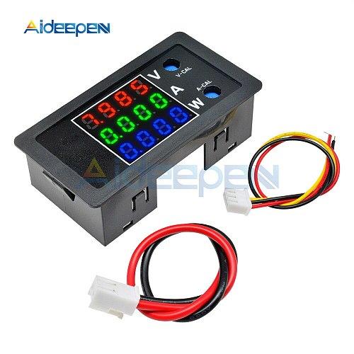 0.28  LED Digital Voltmeter Ammeter Car Motocycle Voltage Current Meter Volt Detector Tester Monitor Panel Red Green Blue 10A