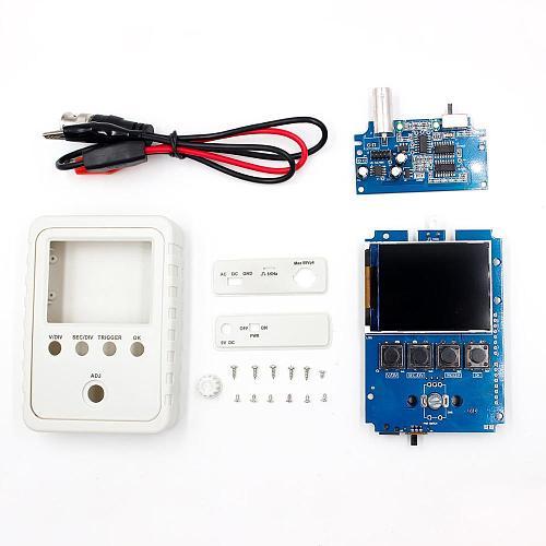 Fully Assembled DSO150 15001K  DIY Digital Oscilloscope Kit With Housing case box digital oscilloscope
