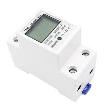 TOP 5-80A DDM15SC LCD Digital Display Single Phase DIN-Rail Electronic Energy KWh Meter 220V/230V 50/60Hz
